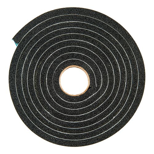 M-D Building Products 3/8-inch x 3/4-inch x 10-ft. Extra Large Gap Sponge Weather Tape Black