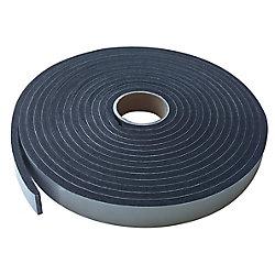 M-D Building Products 3/8-inch x 1/2-inch x 10-ft. Large Gap Sponge Tape Black