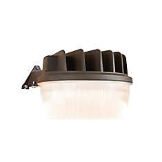 Bronze Outdoor Integrated LED Dusk to Dawn Security Light with Integral Photo-Control Sensor