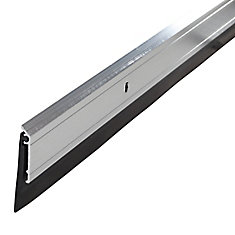 Under Door Bottom Weather-stripping Sweep - Mill Finish, 36 inch