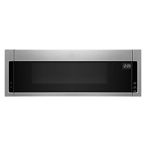 1.1 cu. ft. Low Profile Over the Range Microwave in Stainless Steel