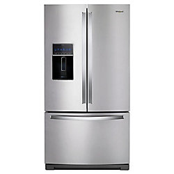 36-inch W 27 cu. ft. French Door Refrigerator in Fingerprint Resistant Stainless Steel - ENERGY STAR®