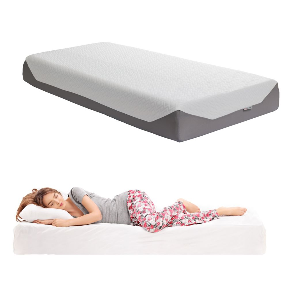 Corliving Sleep Collection 10 inch Single/Twin Medium Firm Memory Foam Mattress