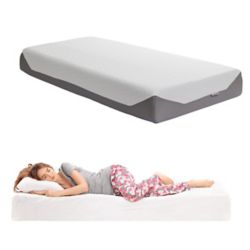 Corliving Matelas 2 places 10 po en mousse à mémoire de forme, collection Sleep