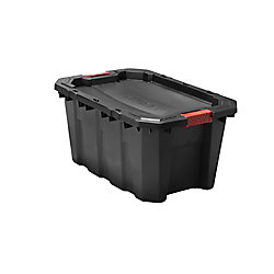 HUSKY 94.6L Latch & Stack Tote