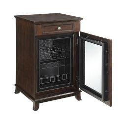 Elegance 21-Bottle Refrigerated Wood Wine Cabinet