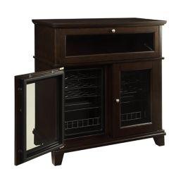 Elegance 42-Bottle Refrigerated Wood Wine Cabinet