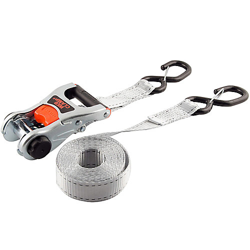 Ratchet Strap with Web Clamp