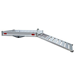 Erickson Deluxe Aluminum Cargo Carrier with Ramp
