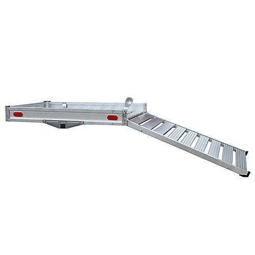 Deluxe Aluminum Cargo Carrier with Ramp