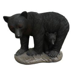 Angelo Décor Statue ours avec ourson