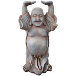 Angelo Décor Statue Bouddha mains levées 61 cm