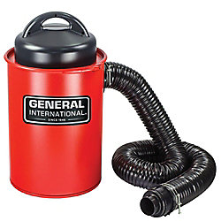 General International Aspirateur Portatif 2 En 1 13 Gallons Avec Cuve En Métal, 9,2 A
