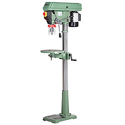 General International 15-inch Commercial Mechanical Variable Speed Floor Drill Press
