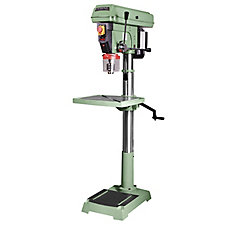 General International 20 inch Floor Commercial Mechanical Variable Speed Drill Press