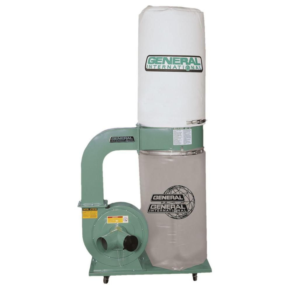 General International 2Hp Industrial Dust Collector