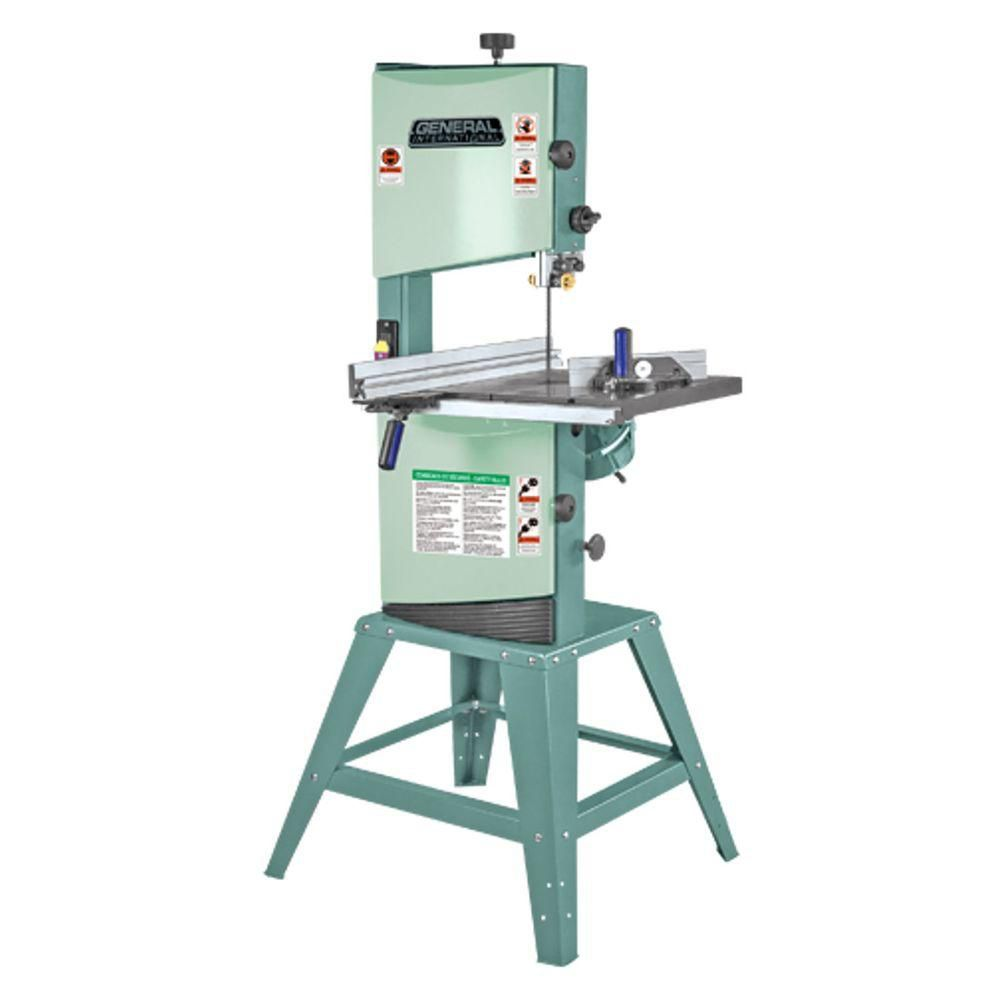 General International 12 inch Woodcutting Band Saw - 1Hp