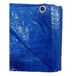 GENERIC 12 ft. x 14 ft. Light Duty Tarp in Blue (2-Pack)