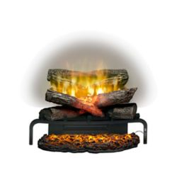Home Decorators Collection Lifelike Electric Log Insert for Fireplaces
