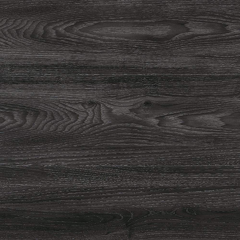 Latte pour plancher, vinyle de luxe, 7,5po x 47,6po, Chêne Brooks Range, 24,74 pi2/boîte