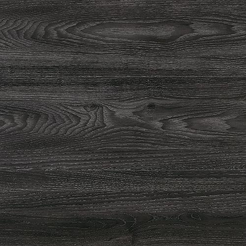 Home Decorators Collection Couvre-plancher de lattes de vinyle luxe Chêne de style Chaîne Brooks de7,5pox47,6po(24,74pi2/boîte)