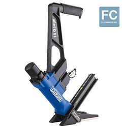 Estwing Pneumatic 18-Gauge L-Cleat Flooring Nailer with fibreglass Mallet and Padded Bag