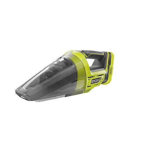 RYOBI Aspirateur à main sans fil 18V ONE+ avec outil à fentes (outil seulement)