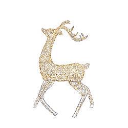 Holiday Showtime 5 ft. Standing LED Micro Dot Christmas Deer