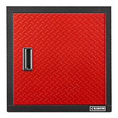 Premier Series 24-inch H x 24-inch W x 12-inch D Steel Garage Wall Cabinet in Red Tread