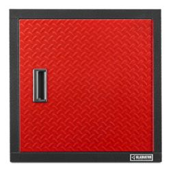 Gladiator Premier Series 24-inch H x 24-inch W x 12-inch D Steel Garage Wall Cabinet in Red Tread