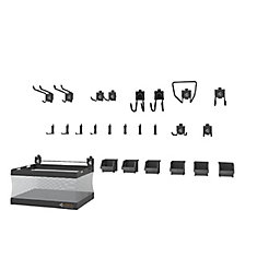 GearTrack and GearWall Garage Hook Accessory Kit 2