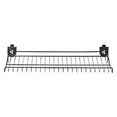 30-inch W x 15-inch D Ventilated Shoe Shelf for GearTrack or GearWall
