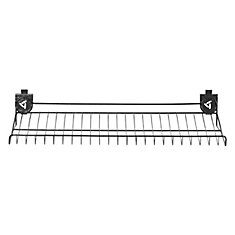 24-inch W x 13-inch D Wire Shelf for GearTrack Channels and GearWall Panels