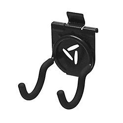4.25-inch H x 2.75-inch W x 4.25-inch D Scoop Hook for GearTrack or GearWall