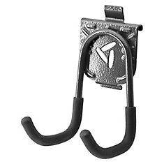 5.75-inch H x 3.75-inch W x 4.5-inch D Utility Hook for GearTrack or GearWall