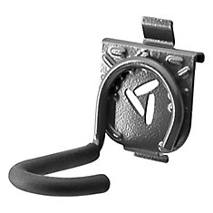 4-inch H x 2.75-inch W x 5.5-inch D Vertical Bike Hook for GearTrack or GearWall