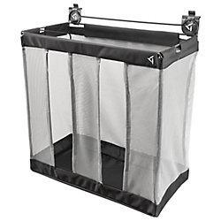 24-inch W Ball Caddy Garage Storage for GearTrack or GearWall