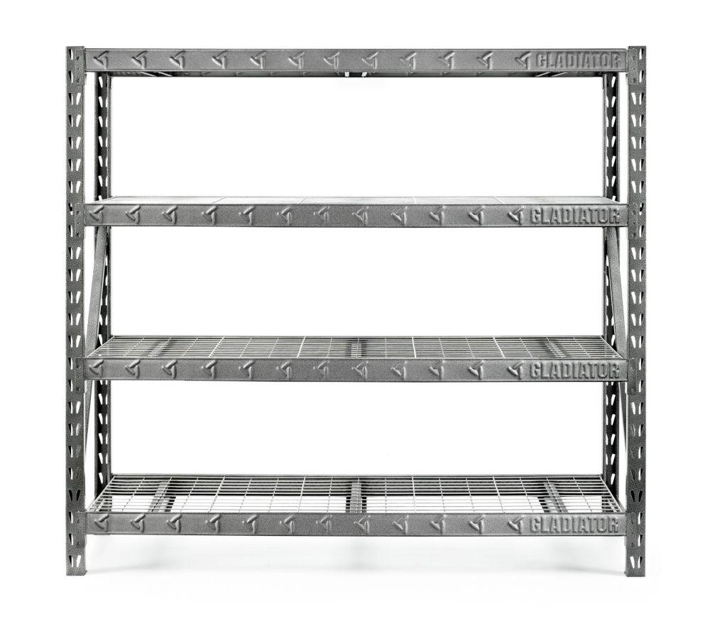 Gladiator Gladiator 77-inch Rack Shelf - 4 Level