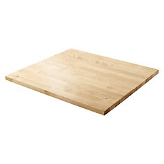 27-inch W Hardwood Worktop for Premier Series Garage Cabinets