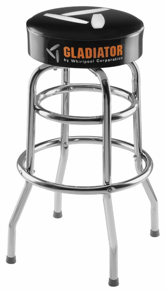 Gladiator Workbench Stool, 30-inch Height