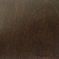 Échantillon - Plancher, bois massif, 3/4 po x 3 1/4 po, bouleau canadien café