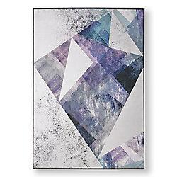 Graham & Brown Midnight Aura Abstract Printed Canvas Wall Art