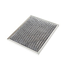 Non-Duct Charcoal Replacement Filter  10.5 inch X 8.75 inch X 0.375 inch