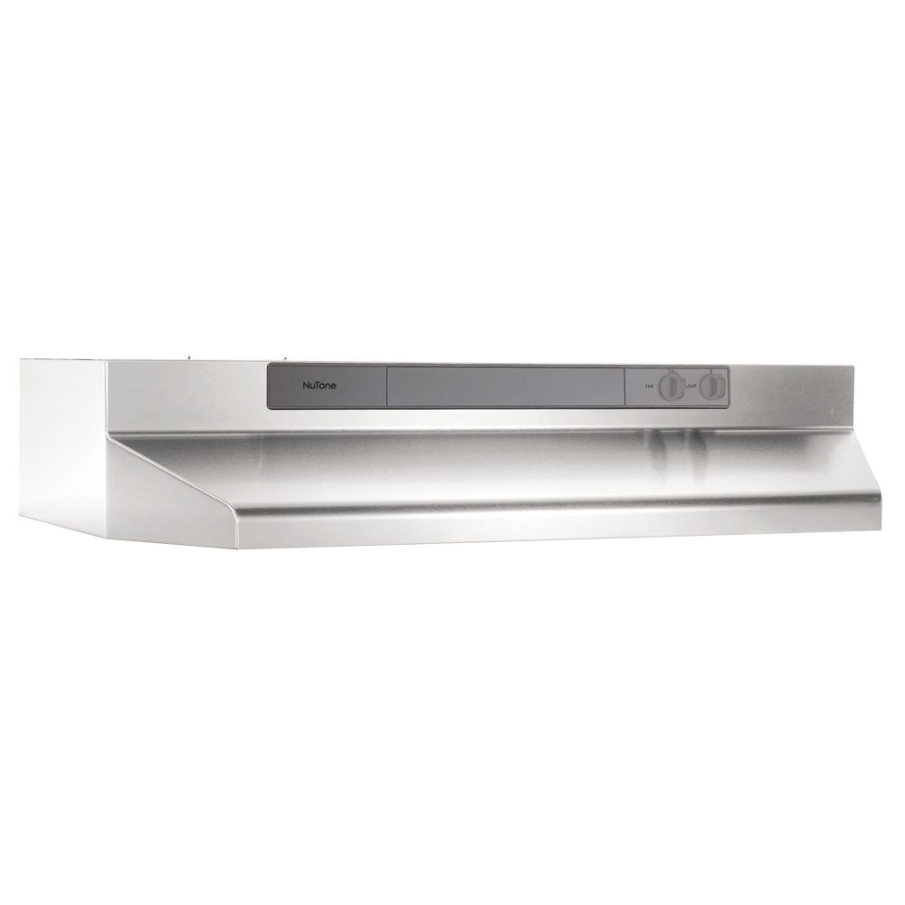 Nutone Under Cabinet Range Hoods Nu3 Series 190 Cfm 30 Inch