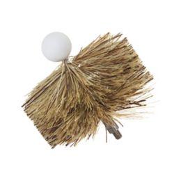 4 inch Pellet Stove Brush 1/4