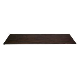 INTERBUILD 96 inch x 25.5 inch x 1.5 inch Acacia Wood Kitchen Countertop Espresso