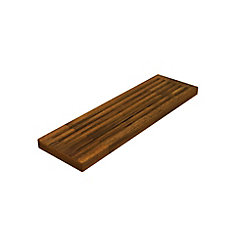 6 inch x 20 inch x 1 inch Butcher Block Cutting Boards Brown