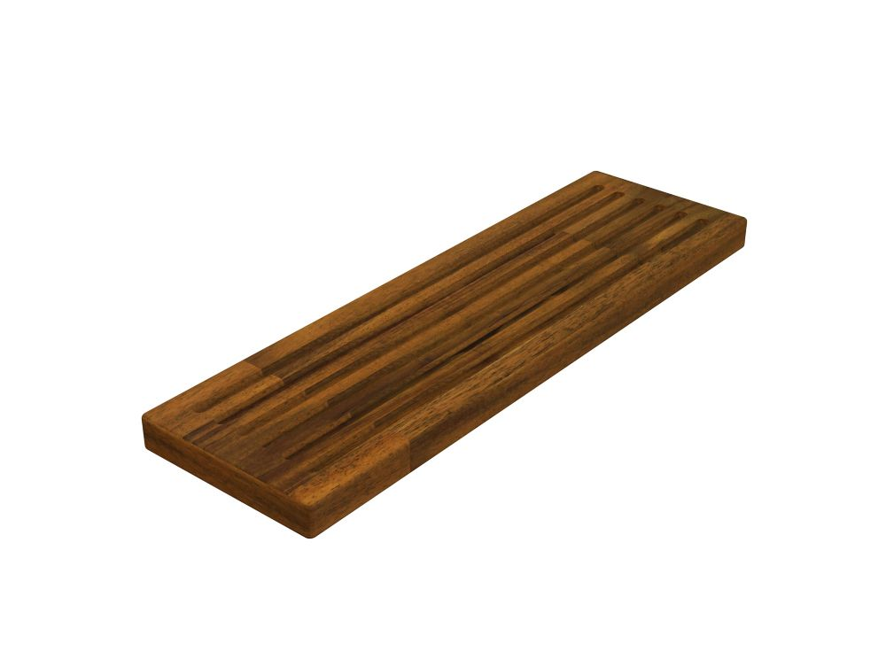 Home Decorators Collection 6 inch x 20 inch x 1 inch Butcher Block Cutting Boards Brown