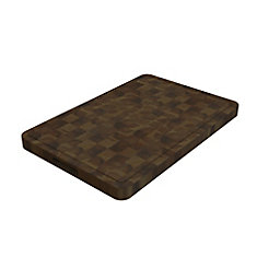 16 inch x 24 inch x 1.5 inch Butcher Block Cutting Boards Brown