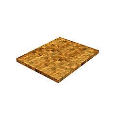 32 inch x 25.5 inch x 1.5 inch Butcher Block Cutting Boards Light Oak